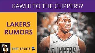 Lakers Rumors: Kawhi Leonard Going To The Clippers, Jamal Crawford Coming to LA