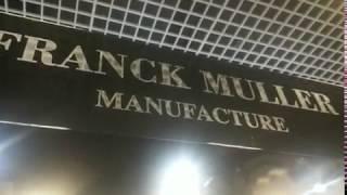 FRANCK MULLER : Montre à 2 000 000 CHF à Top Marques Monaco 2018