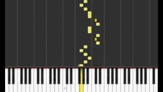 "JerryC - ""Canon Rock"" on Synthesia"
