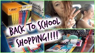 BACK TO SCHOOL SHOPPING!!!!! Thumbnail