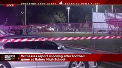 JSO: 1 dead, 2 injured in shooting at Raines High School football game