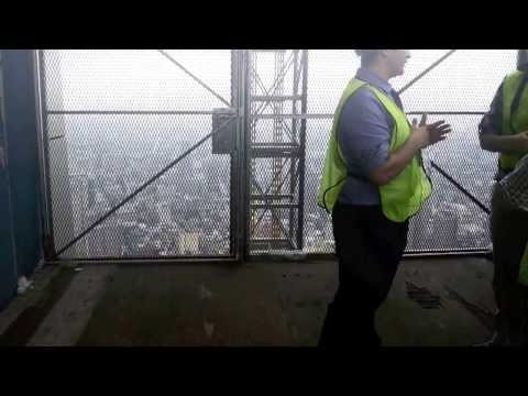 Construction of 1 WTC Video with Google Glass