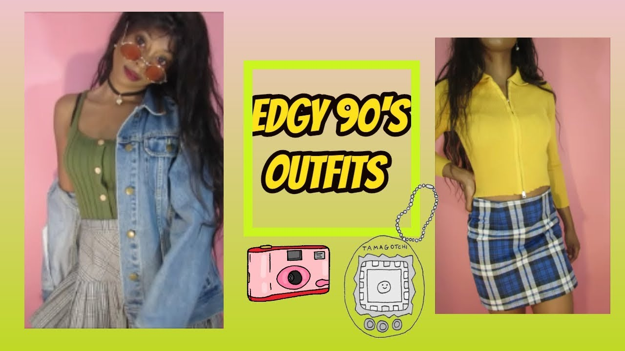 90's Aesthetic Outfits| 90's Black Girl Outfits