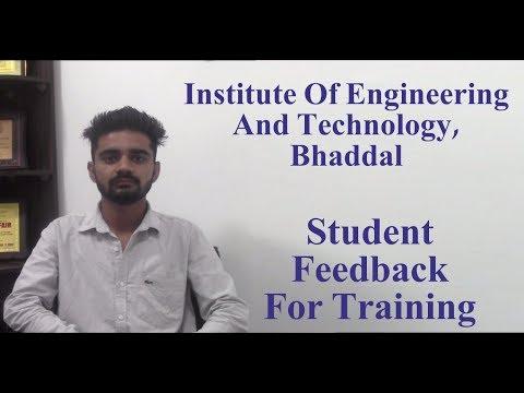 IET Bhaddal - Technical Campus Ropar Student Feedback