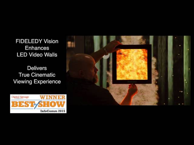Stewart Filmscreen's Post InfoComm15 Sizzle reel video