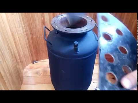 Автоклав из газового баллона своими руками видео