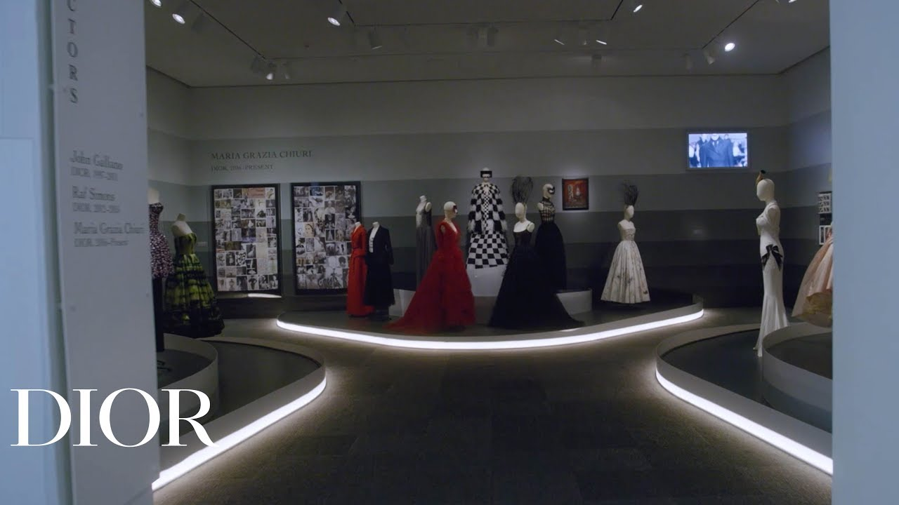 Making-of 'Dior's From Paris to the World' exhibition at the Dallas Museum of Art