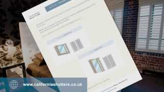 How To Measure A Three Section Angled Bay Window For Shutters
