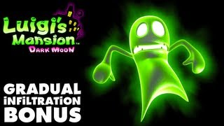 Luigi's Mansion Dark Moon - Gloomy Manor - Gradual Infiltration (Nintendo 3DS Gameplay Walkthrough)