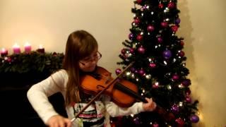 Alle Jahre wieder- Sarah spielt Geige