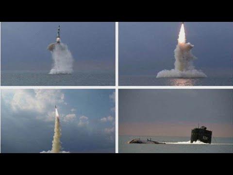 كوريا الشمالية تعلن إطلاقها بنجاح صاروخاً باليستياً جديداً من غواصة  - نشر قبل 5 ساعة