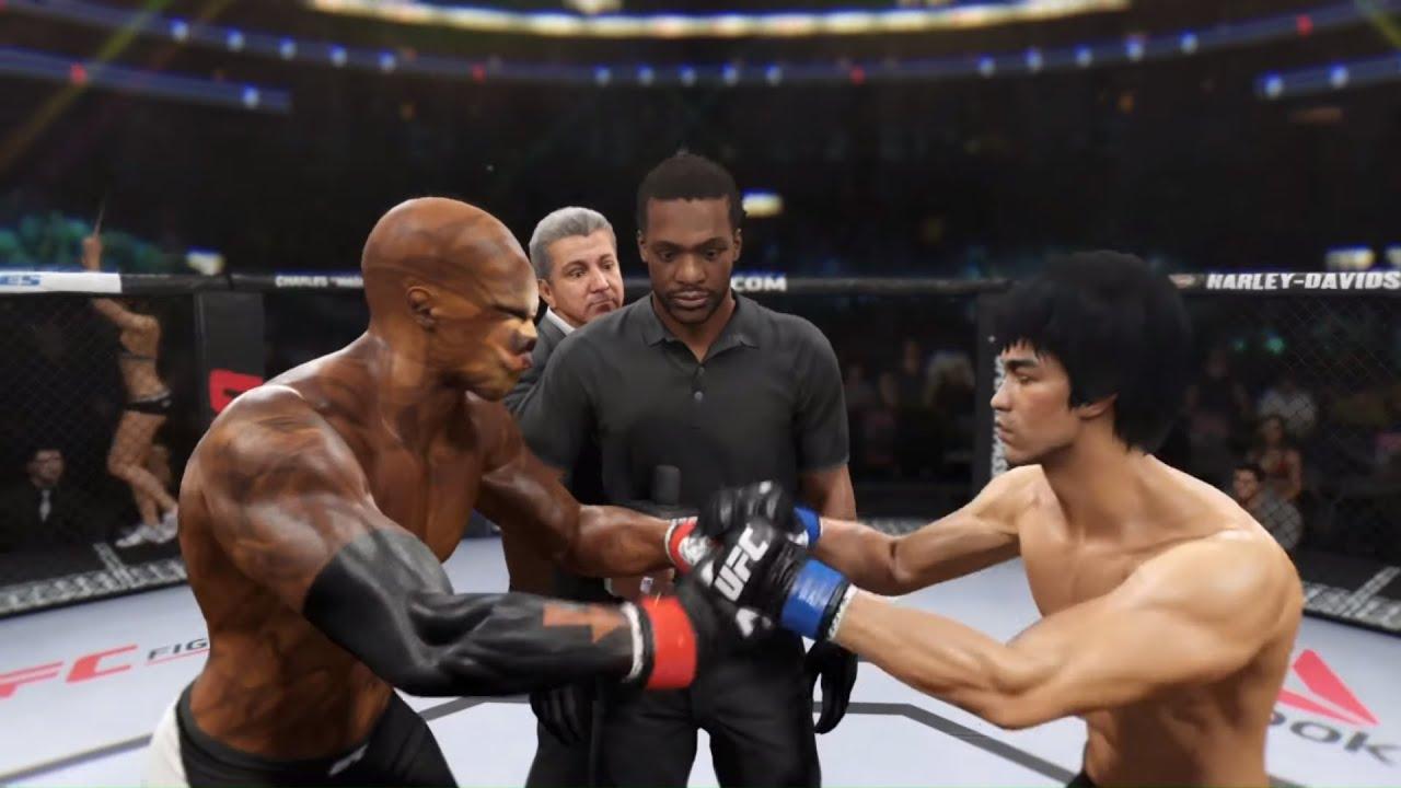 Egghead Mutant vs. Bruce Lee (EA Sports UFC 2)