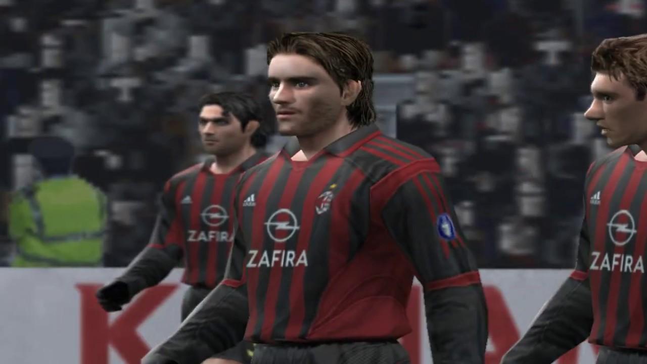 Pro Evolution Soccer 5 - 2005 - A C  Milan VS Arsenal F C  (PC)