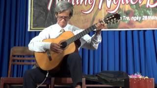 Thầy Trảng độc tấu guitar điệu Tango ^^!