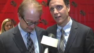 Scandal stars Tony Goldwyn Jeff Perry talk spoilers, Kerry Washington, Shonda Rhimes