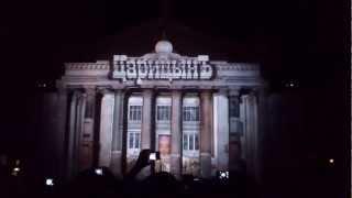 Волгоград 6 мая 2012 Лазерное шоу