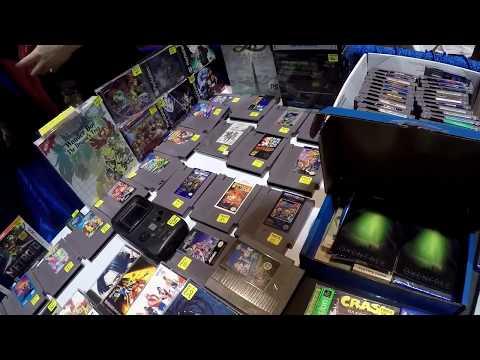 Live Retro Video Game Hunting Episode #46 Retro World Expo 2017