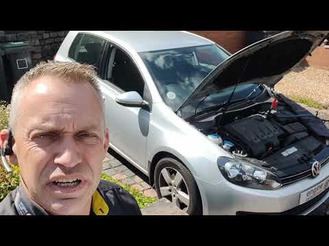 Diagnostic consultation and Engine Carbon Clean on a VW Golf 2.0 TDI (2012 - 68,444 miles)