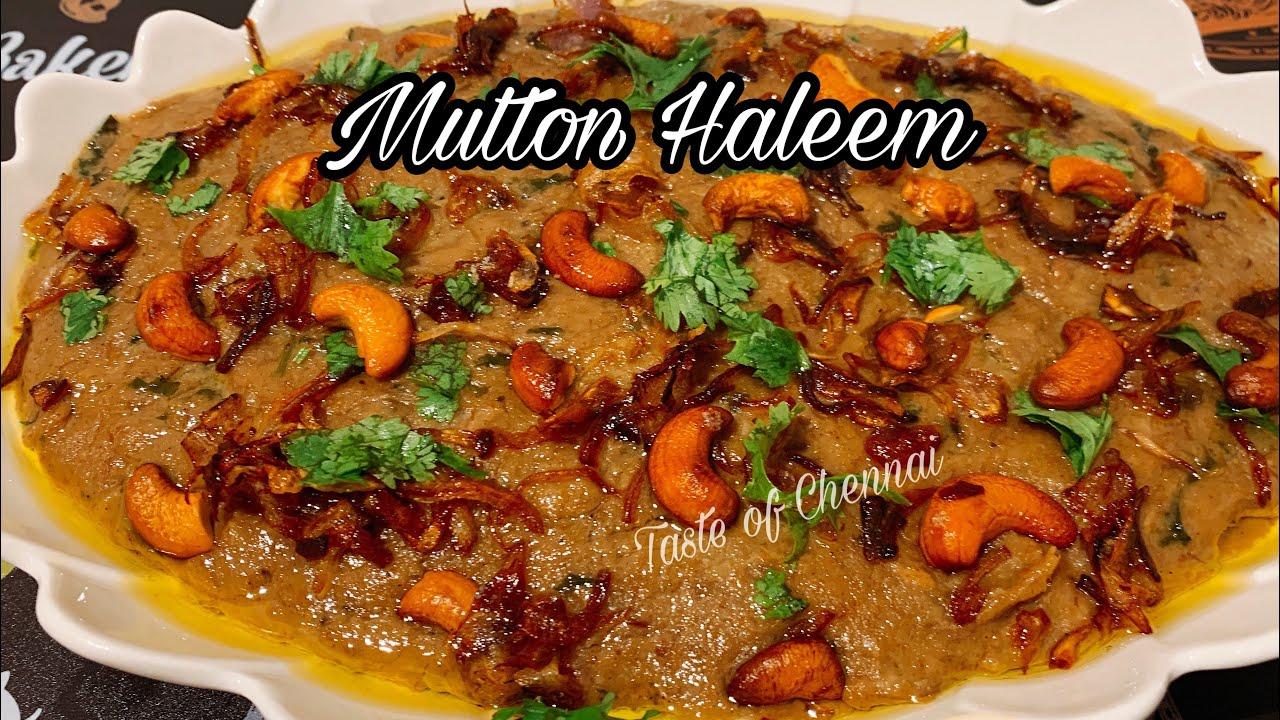 Mutton Haleem Recipe | Hyderabadi Haleem Recipe | Iftar Recipe ~ Ramadan Recipes #1