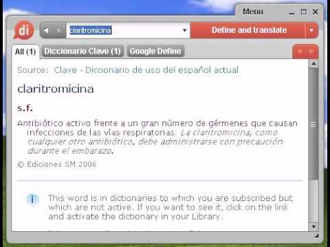 Definicion De Claritromicina Youtube