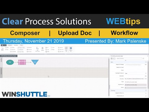 WINSHUTTLE Tutorial and WEBTips: Composer: Using Plugin to Save Uploaded Documents to a Directory thumbnail