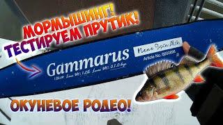 Тестируем Спиннинг для мормышинга Gammarus   Много рыбы