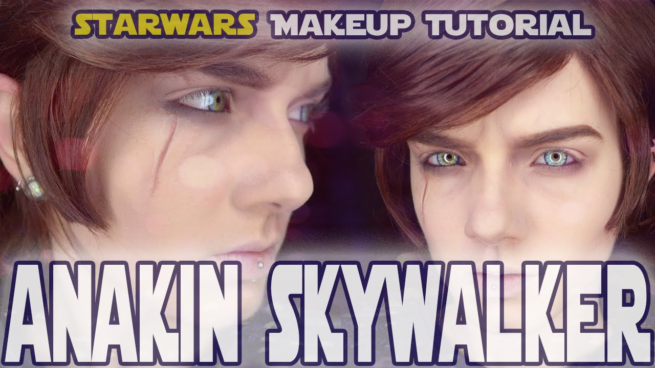 Anakin Skywalker Makeup Tutorial Transformation Youtube