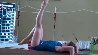Спортивная гимнастика Бревно 3 юнешеский Сайко Виолетта