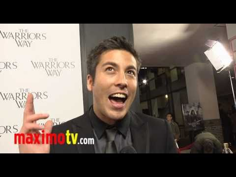 "MAX LOONG (MTV ASIA's VJ) Interview at ""The Warrior's Way"" Los Angeles Screening"