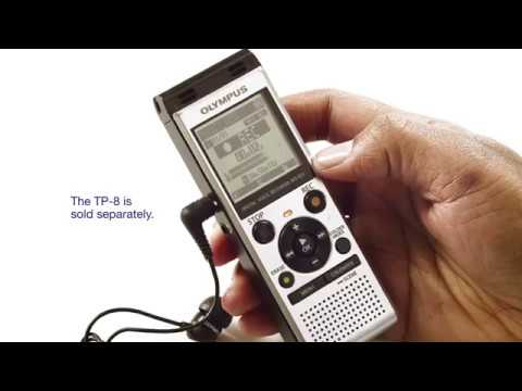 Recording a phone call with your Olympus Digital Voice Recorder
