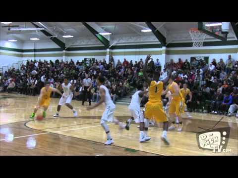 St. Edward vs St. Vincent St. Mary Basketball