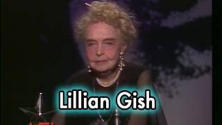 Lillian Gish Accepts the AFI Life Achievement Award in 1984