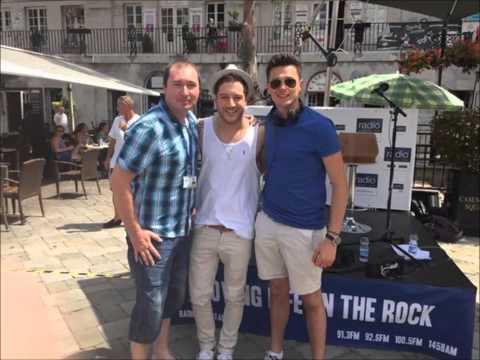Matt Cardle - Radio Gibraltar - 4.7.15