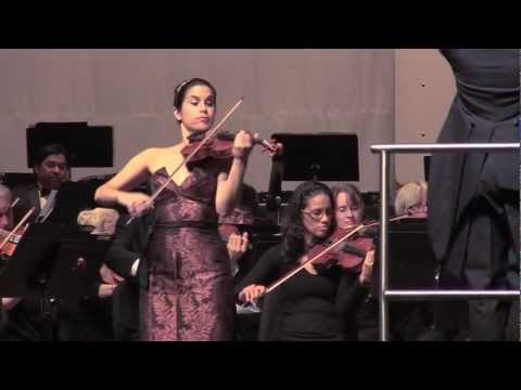 Danielle Belen plays The Hot Canary by Paul Nero with the Tulare County Symphony