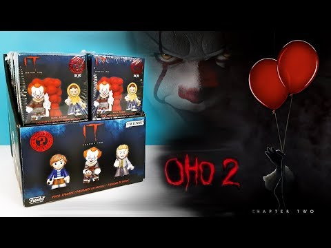ОНО 2 Сюрпризы Funko Mystery Minis! ФИГУРКИ фильм IT Chapter Two 2019 Surprise Toys Unboxing