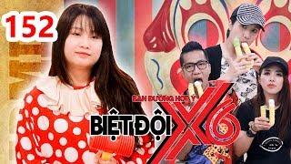 BIỆT ĐỘI X6   BDX6 #152   Thanh Trần - Hot mom vượt mặt SƠN TÙNG MTP lầy lội cùng Miko - Cát Tường😂