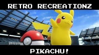 Retro Recreationz - Episode 4: Pikachu Pixel-Art!