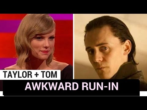 Tom Hiddleston Awkwardly Runs Into Taylor Swift! (WEIRD THIS WEEK)
