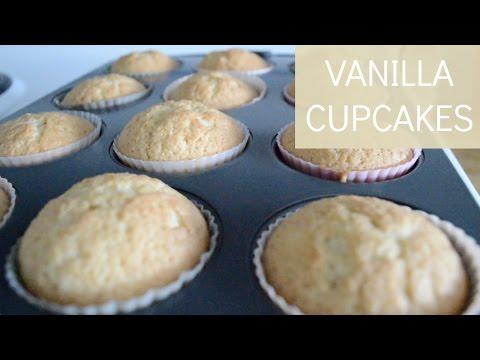 How To Bake Vanilla Cupcakes