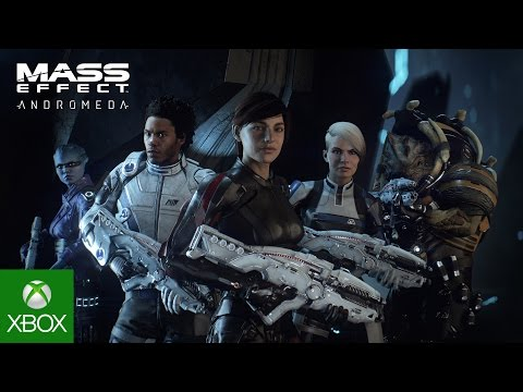 Mass Effect: Andromeda - Official Sara Ryder Trailer