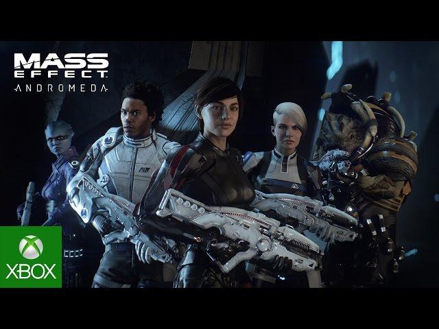 Mass Effect: Andromeda - Official Sara Ryder Trailer