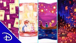 Disney Art 4 Ways: Tangled | Disney
