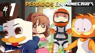 EMPIEZA LA AVENTURA!! #1 | PERDIDOS EN MINECRAFT thumbnail