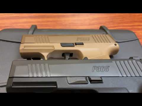 Repeat New Sig P365 Coyote Tan 2019 NRA Convention Special