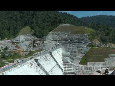 Hydroelectric dam construction, Pahang, Malaysia. 20150504_104552.m2ts