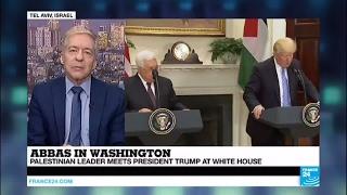Abbas in Washington  Palestinian leader meets Trump