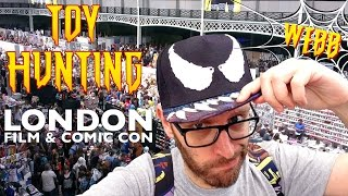 Toy Hunting at LONDON FILM & COMIC CON 2016