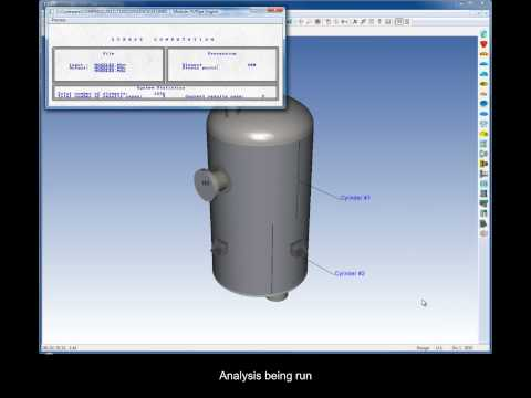 Finite Element Analysis (FEA) using COMPRESS