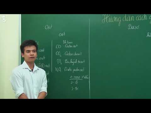 [Hóa Học cơ bản] cách gọi tên các hợp chất vô cơ