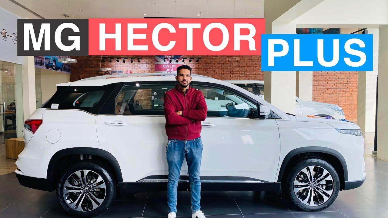 2021 MG Hector Plus Select variant walk around   MG Hector + review   Hector Suv   MG Hector India